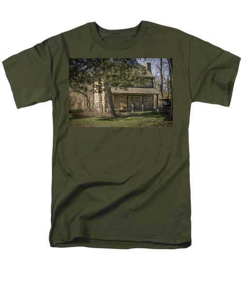 Cabin in the Wood T-Shirt by Heather Applegate