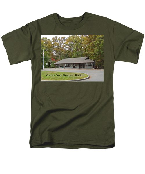 Cades Cove Ranger Station T-Shirt by Marian Bell