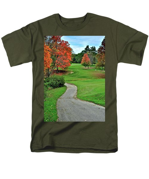 Cart Path T-Shirt by Frozen in Time Fine Art Photography