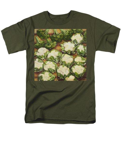 Cauliflower March Men's T-Shirt  (Regular Fit) by Jen Norton