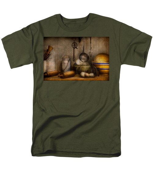 Chef - Ingredients - Breakfast and grandpa's T-Shirt by Mike Savad