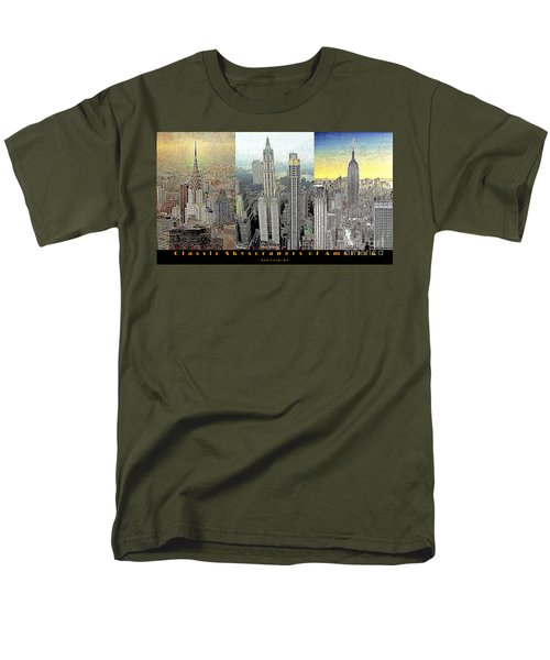 Classic Skyscrapers of America 20130428 T-Shirt by Wingsdomain Art and Photography