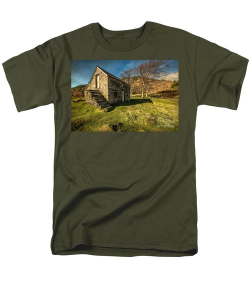 Country Cottage T-Shirt by Adrian Evans