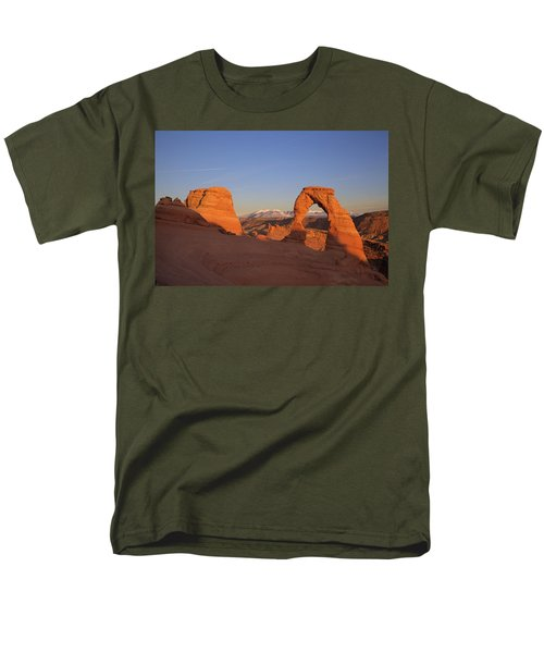 Delicate Arch at Sunset-2 T-Shirt by Alan Vance Ley