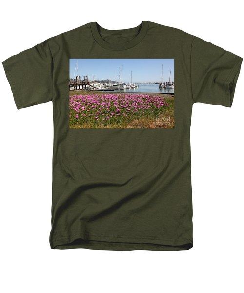 Docks at Sausalito California 5D22695 T-Shirt by Wingsdomain Art and Photography