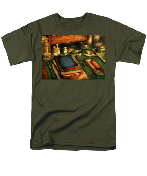 Doctor - The Busy Doctor T-Shirt by Mike Savad