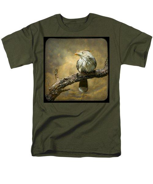 Exotic Bird - Guira Cuckoo Bird Men's T-Shirt  (Regular Fit) by Gary Heller