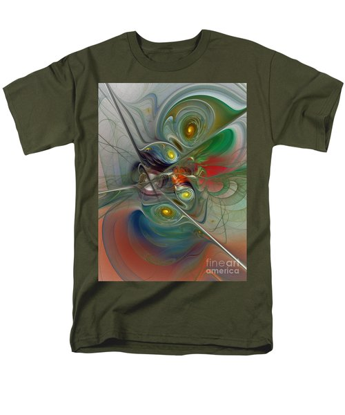 Floating Lightness-Abstract Art T-Shirt by Karin Kuhlmann