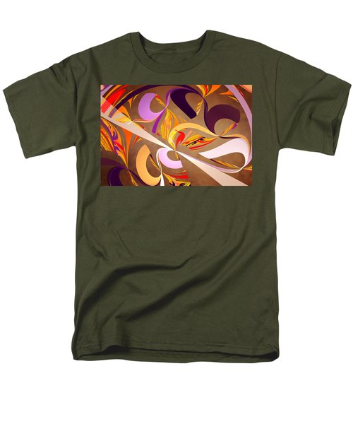 Fractal - Abstract - Space Time T-Shirt by Mike Savad