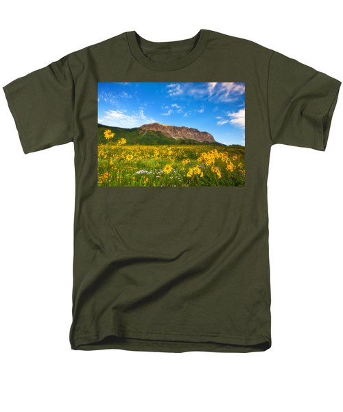 Gothic Meadow T-Shirt by Darren  White