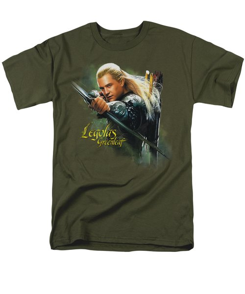 Hobbit - Legolas Greenleaf Men's T-Shirt  (Regular Fit) by Brand A