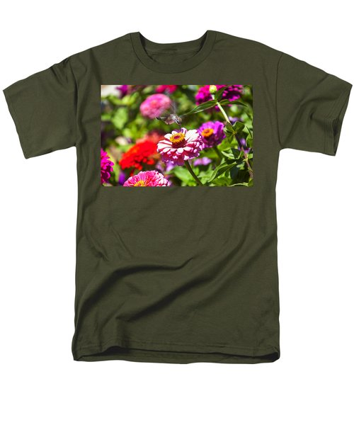 Hummingbird Flight T-Shirt by Garry Gay