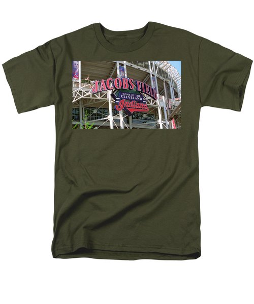 Jacobs Field - Cleveland Indians T-Shirt by Frank Romeo
