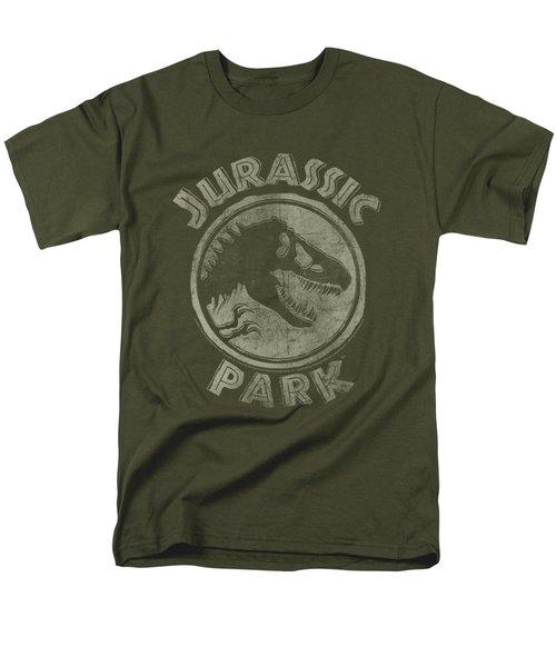 Jurassic Park - Jp Stamp Men's T-Shirt  (Regular Fit) by Brand A