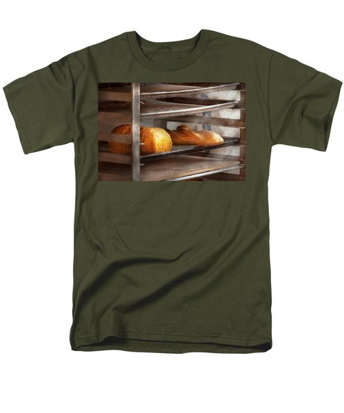 Kitchen - Food - Bread - Freshly baked bread  T-Shirt by Mike Savad