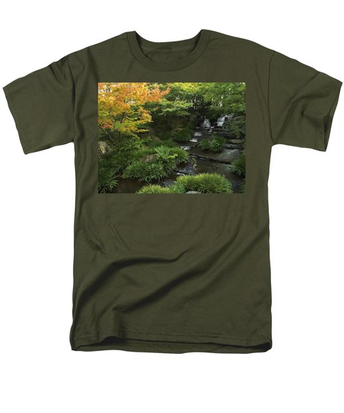 KOKOEN GARDEN WATERFALL - HIMEJI JAPAN T-Shirt by Daniel Hagerman