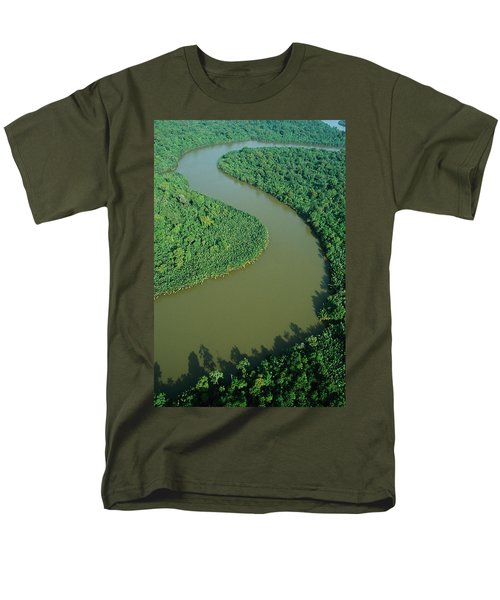 Mangrove Rhizophora Sp In Mahakam Delta T-Shirt by Cyril Ruoso