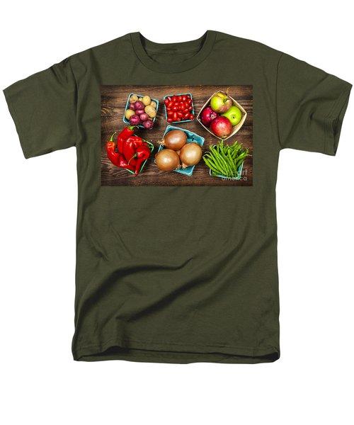 Market fruits and vegetables T-Shirt by Elena Elisseeva