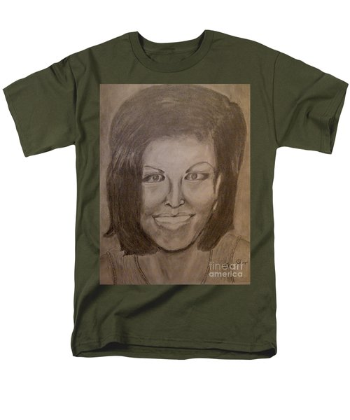 Michelle Obama T-Shirt by Irving Starr