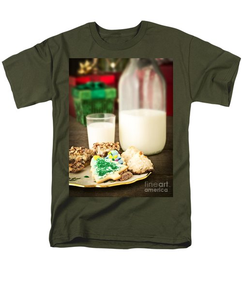 Milk and Cookies T-Shirt by Edward Fielding