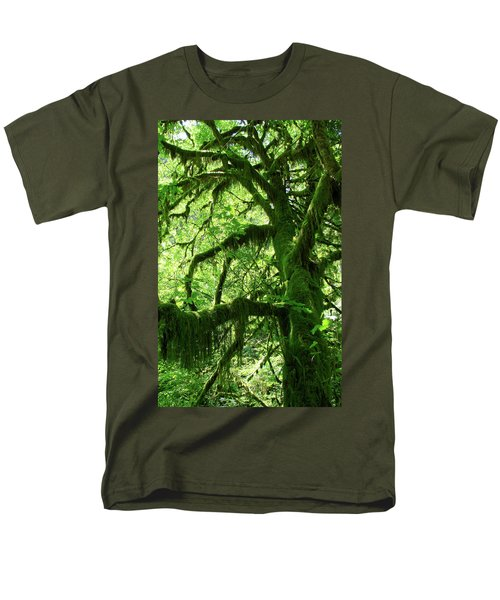 Mossy Tree T-Shirt by Athena Mckinzie
