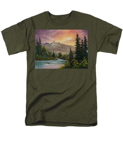 Mountain Sunset T-Shirt by C Steele