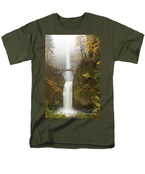 Multnomah Autumn Mist T-Shirt by Mike  Dawson