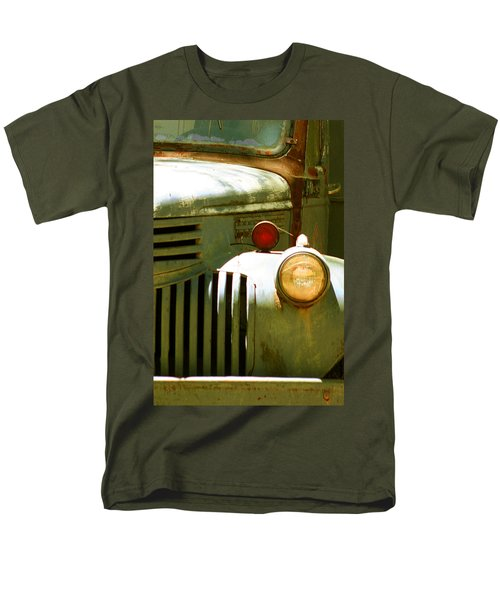 Old Truck Abstract T-Shirt by Ben and Raisa Gertsberg