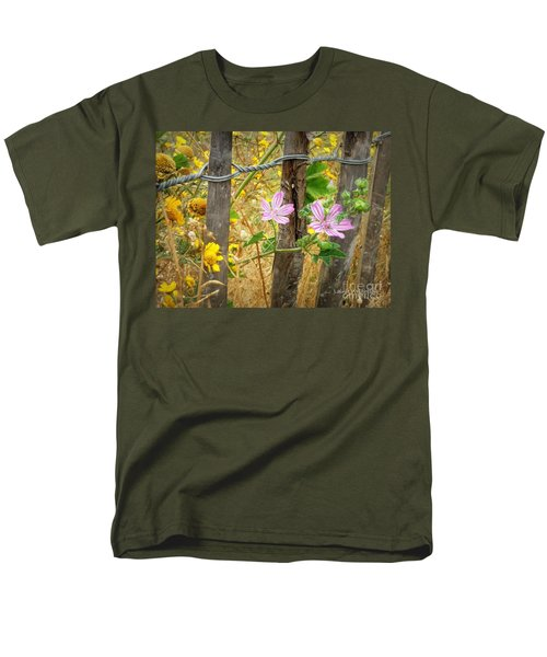 On the Fence T-Shirt by Lainie Wrightson