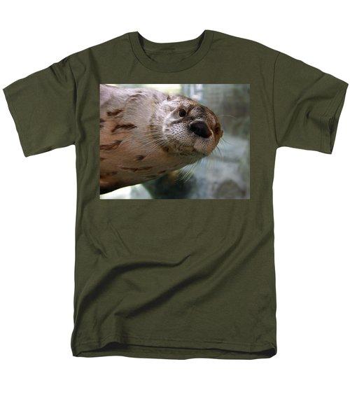 Otter Be Lookin' at You Kid T-Shirt by John Haldane