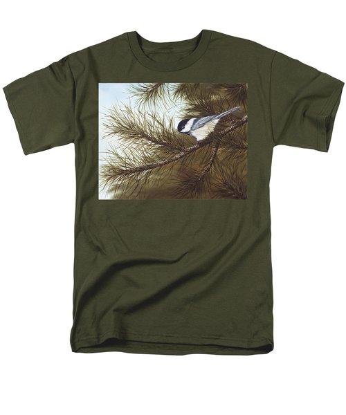 Out On A Limb Men's T-Shirt  (Regular Fit) by Rick Bainbridge