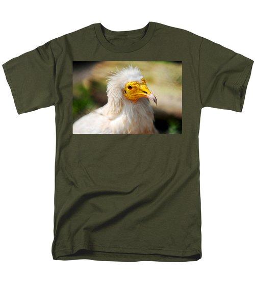 Pharaoh Chicken. Egyptian Vulture Men's T-Shirt  (Regular Fit) by Jenny Rainbow