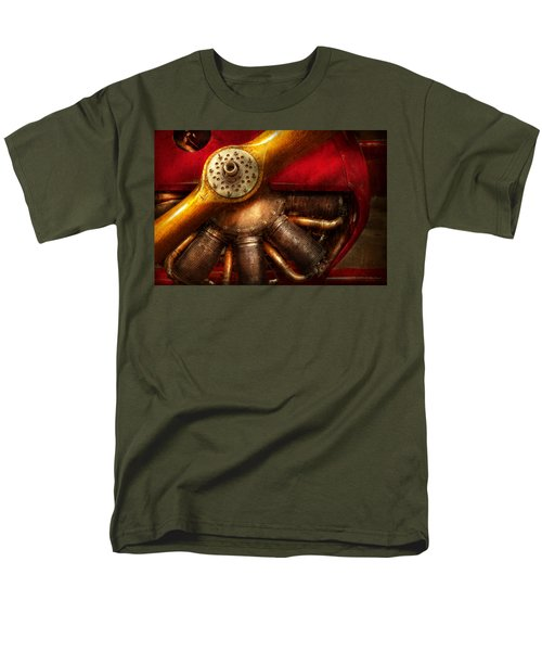 Pilot - Prop - The barnstormer T-Shirt by Mike Savad
