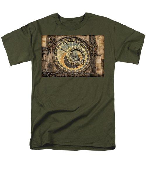 Prague Astronomical Clock T-Shirt by Joan Carroll