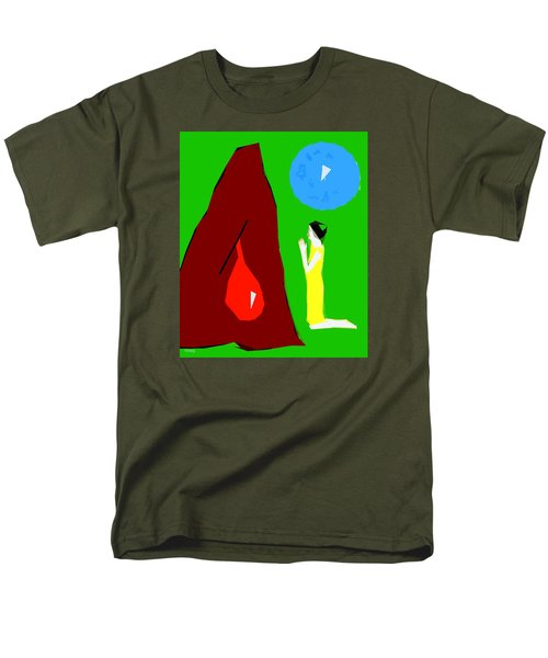 PRAYING FOR A MIRACLE T-Shirt by Patrick J Murphy
