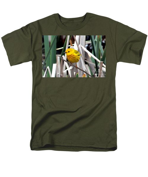 Pretty Little Yellow Warbler T-Shirt by Elizabeth Winter