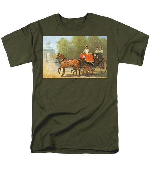 Returning From Her Majestys Drawing Room Men's T-Shirt  (Regular Fit) by Alfred Corbould