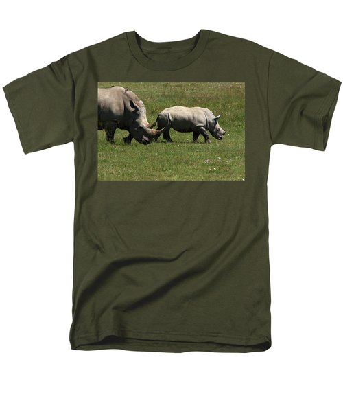 Rhinoceros T-Shirt by Aidan Moran