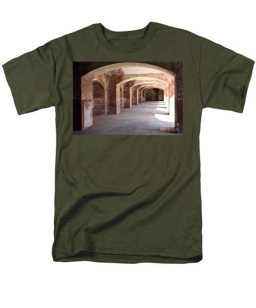San Francisco Fort Point 5D21545 T-Shirt by Wingsdomain Art and Photography