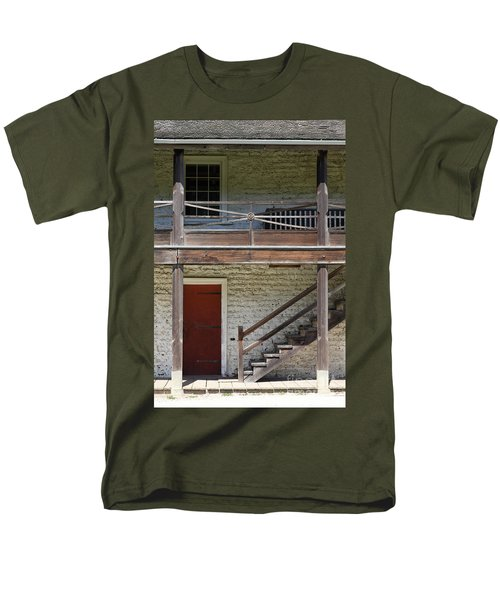 Sanchez Adobe Pacifica California 5D22657 T-Shirt by Wingsdomain Art and Photography