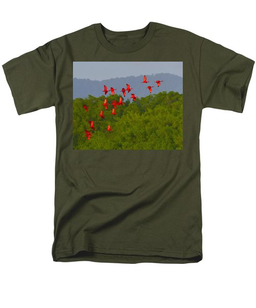 Scarlet Ibis T-Shirt by Tony Beck