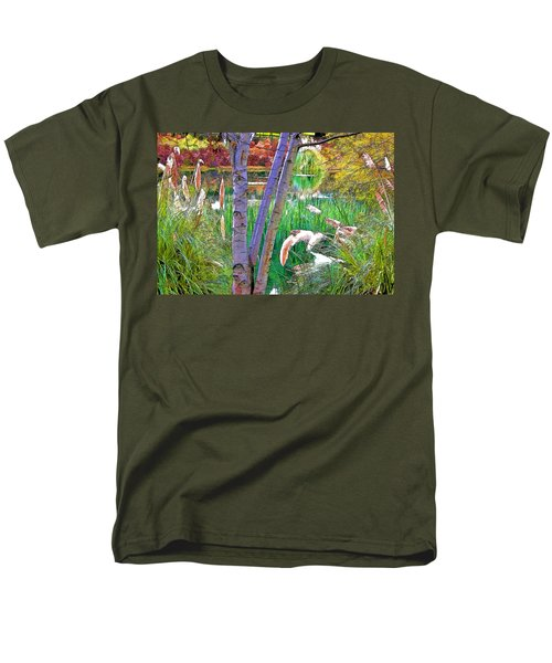 Secluded Pond T-Shirt by Chuck Staley