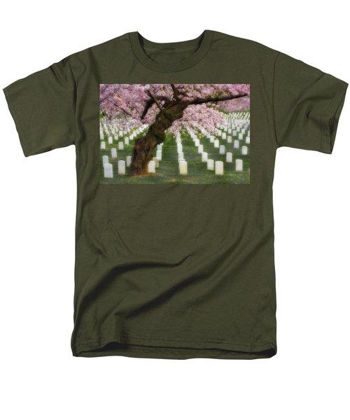 Spring Arives At Arlington National Cemetery T-Shirt by Susan Candelario