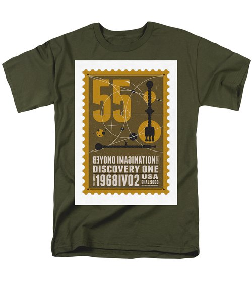Starschips 55-poststamp -Discovery One T-Shirt by Chungkong Art
