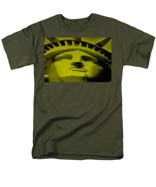 STATUE OF LIBERTY in YELLOW T-Shirt by ROB HANS