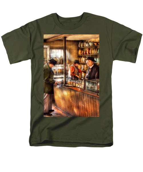 Store - Ah Customers T-Shirt by Mike Savad