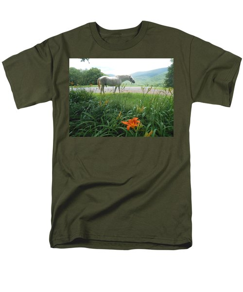 Summer Day Memories with The Paso Fino Stallion T-Shirt by Patricia Keller