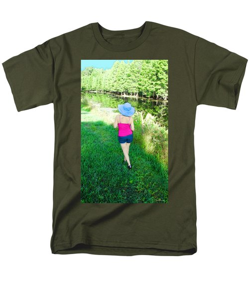 Summer Stroll In The Park - Art by Sharon Cummings T-Shirt by Sharon Cummings
