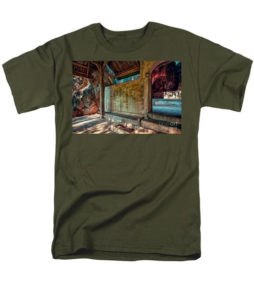 Temple Cave T-Shirt by Adrian Evans