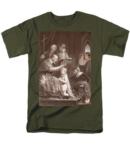 The Coronation Of Henry Vi, Engraved Men's T-Shirt  (Regular Fit) by John Opie